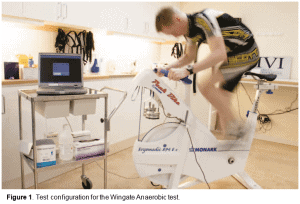Figure 1 - Test configuration for the Wingate Anaerobic test