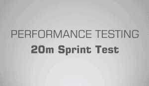 20m Sprint Test - Science for Sport