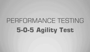 5-0-5 Agility test - Science for Sport