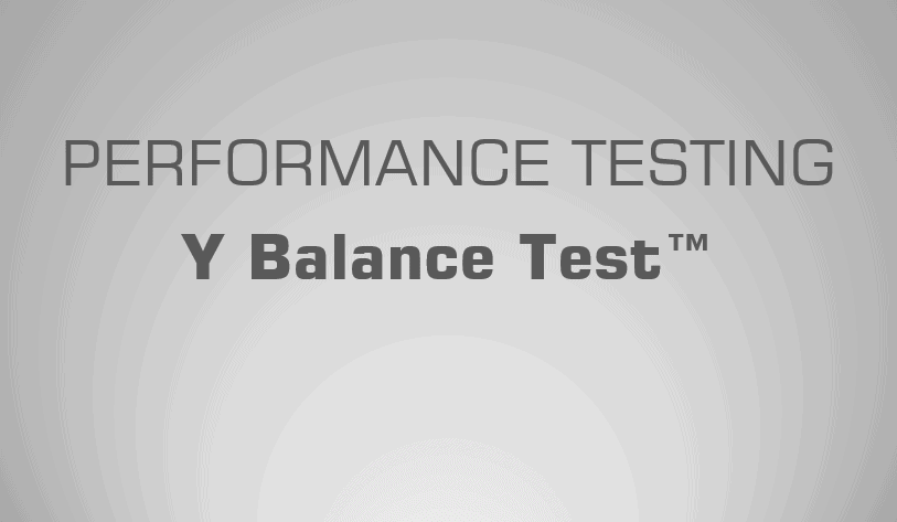 Y Balance Test - Science for Sport