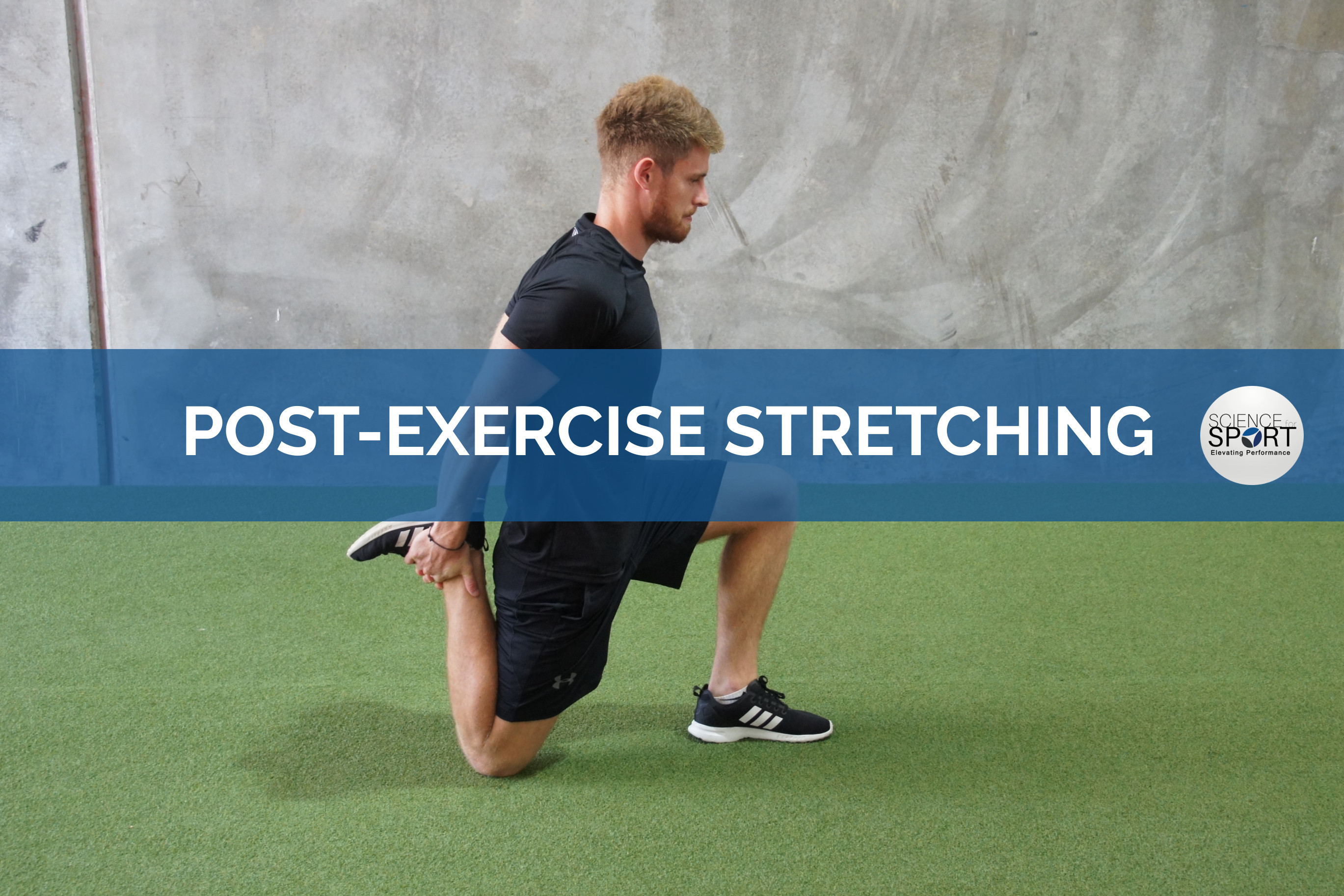 post-exercise stretching - Science for Sport - Recovery