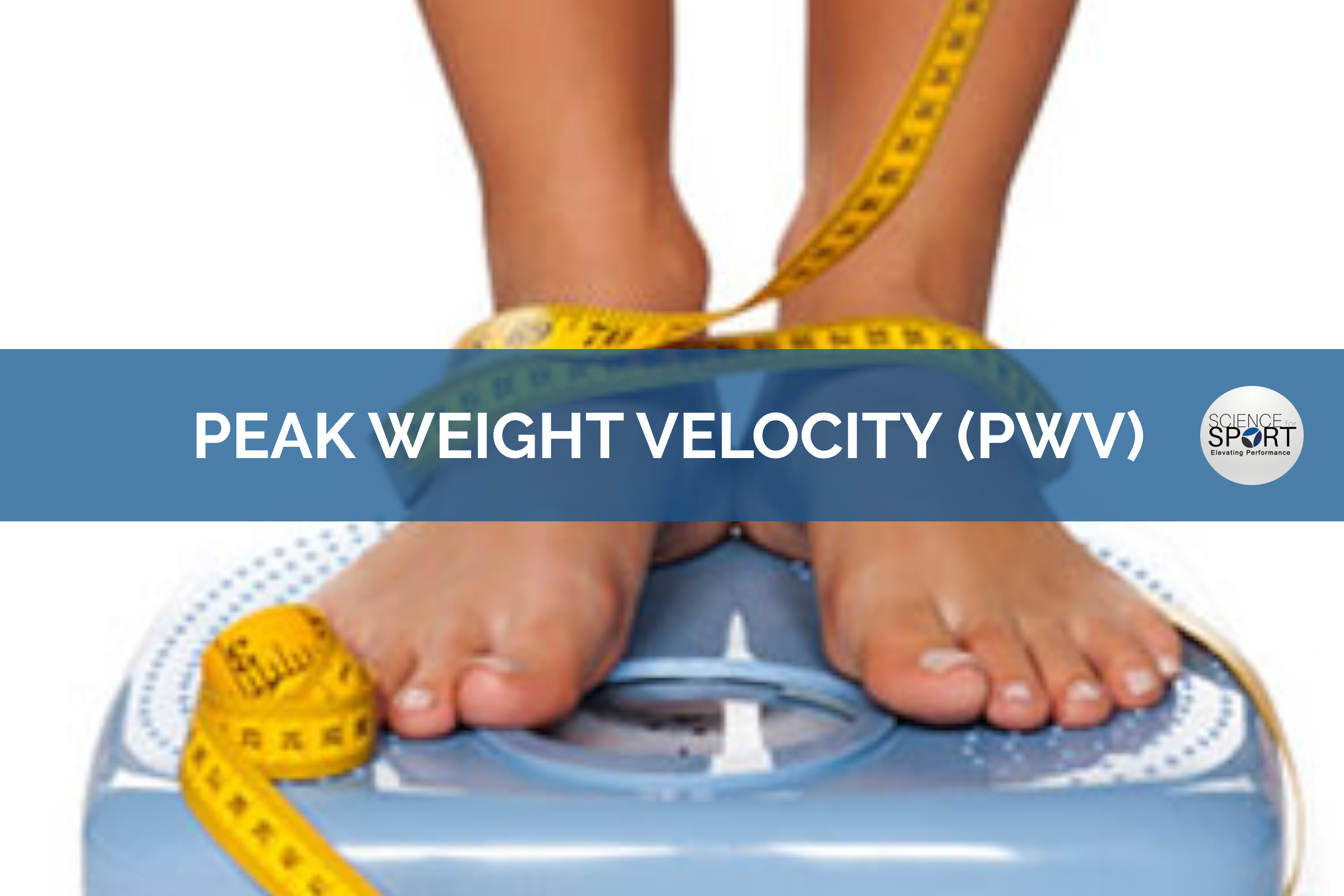 peak weight velocity- science for sport