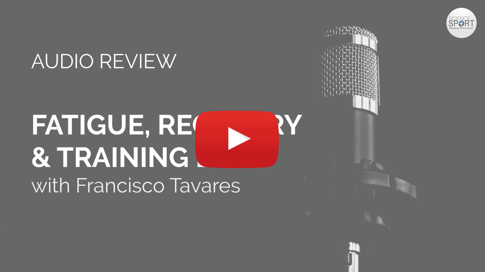 Fatigue, Recovery & Training Load with Francisco Tavares - Science for Sport