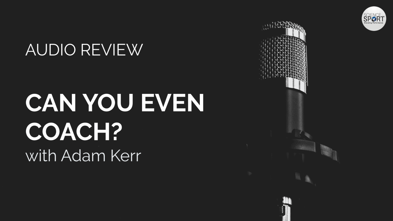 Can You Even Coach - Audio Review