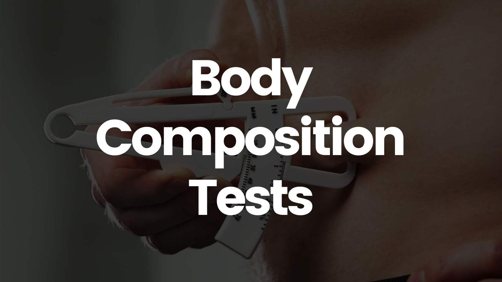 Body Composition Tests - Science for Sport